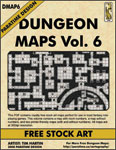 DUNGEON MAPS VOL 6