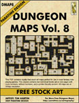 DUNGEON MAPS VOL 8