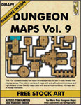DUNGEON MAPS VOL 9