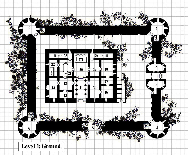 Fantasy Castle Floor Plans http://www.cartographersguild.com/building-structure-mapping/1876-castle-plans-6.html