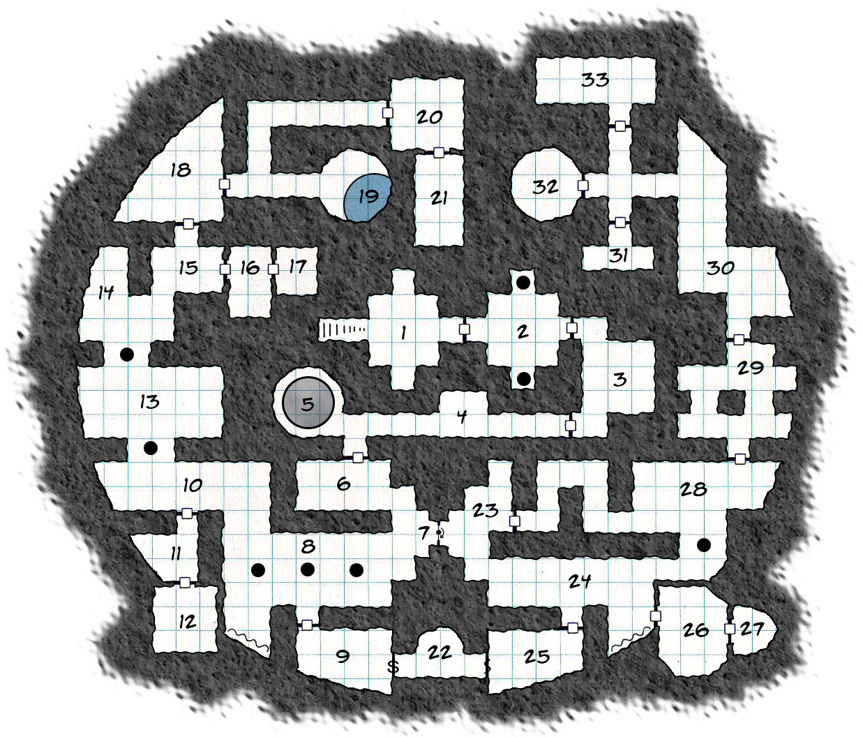 My Dungeon Maps on