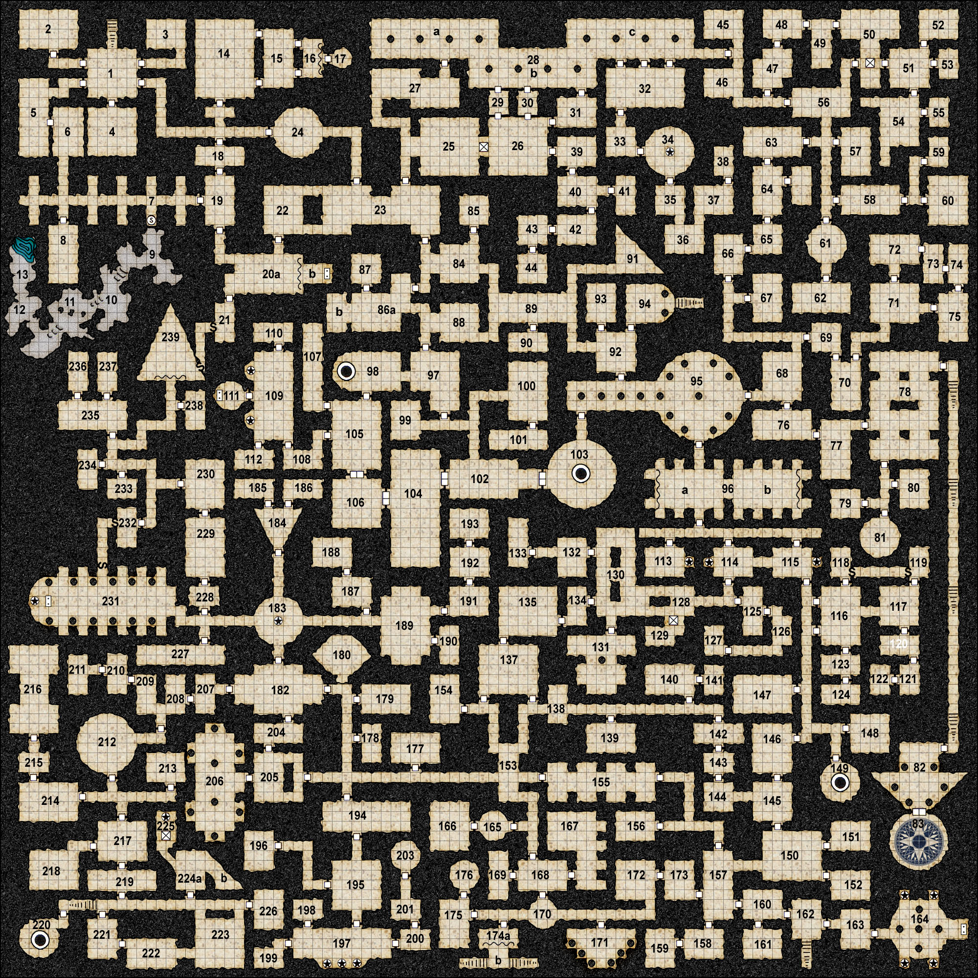 Colour/Textured Dungeon Maps Page 2 | Creative Commons ...