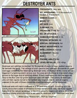 Herculoids Destroyer Ants