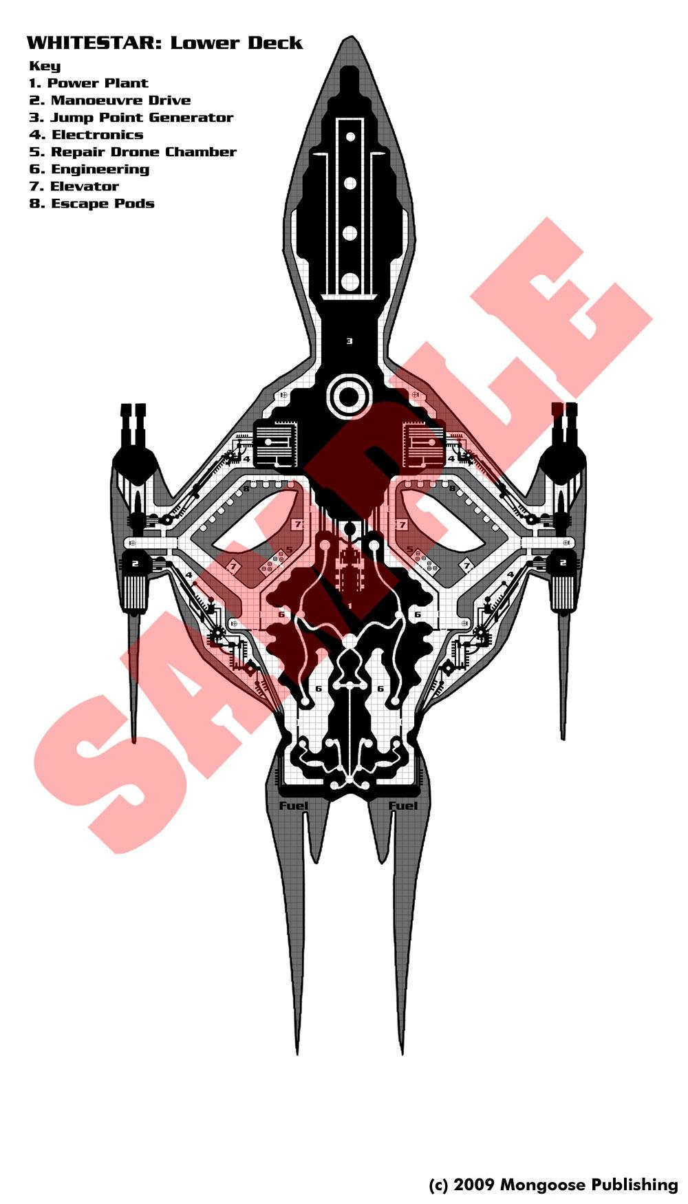 Babylon 5 White Star Deck Plans Wwwimgkidcom The