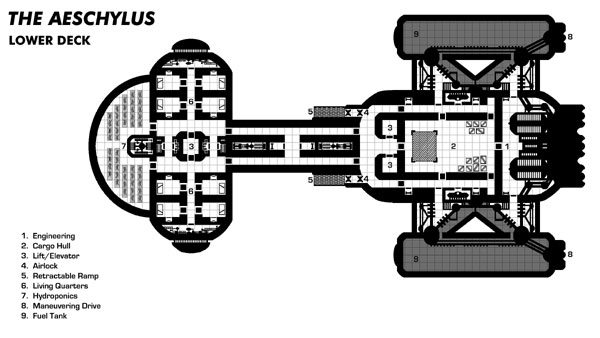 Scenario Aid] Spaceship Deck Plans   The Doctor Who Roleplaying Game