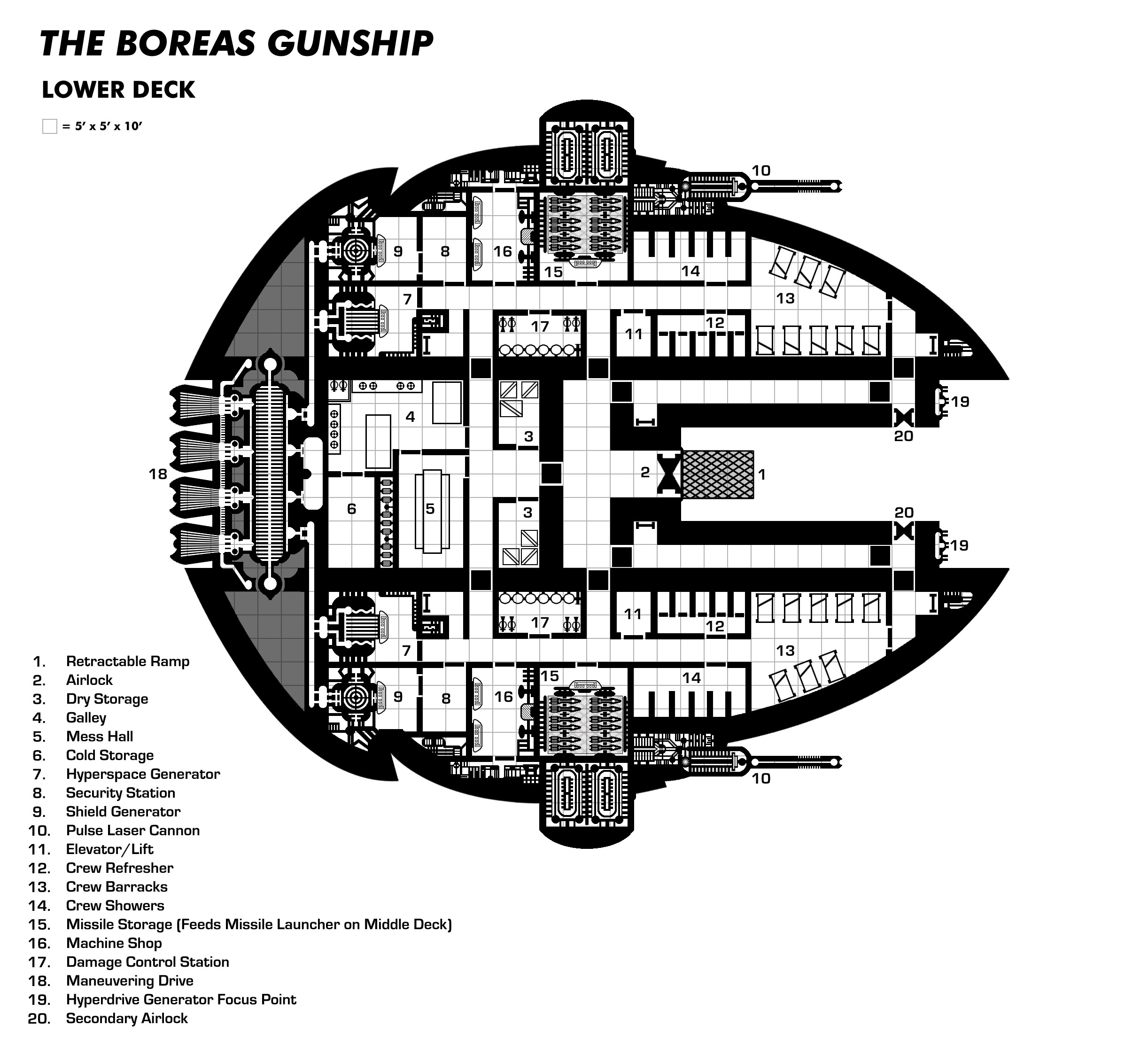 sci fi space stations deck plans - photo #1
