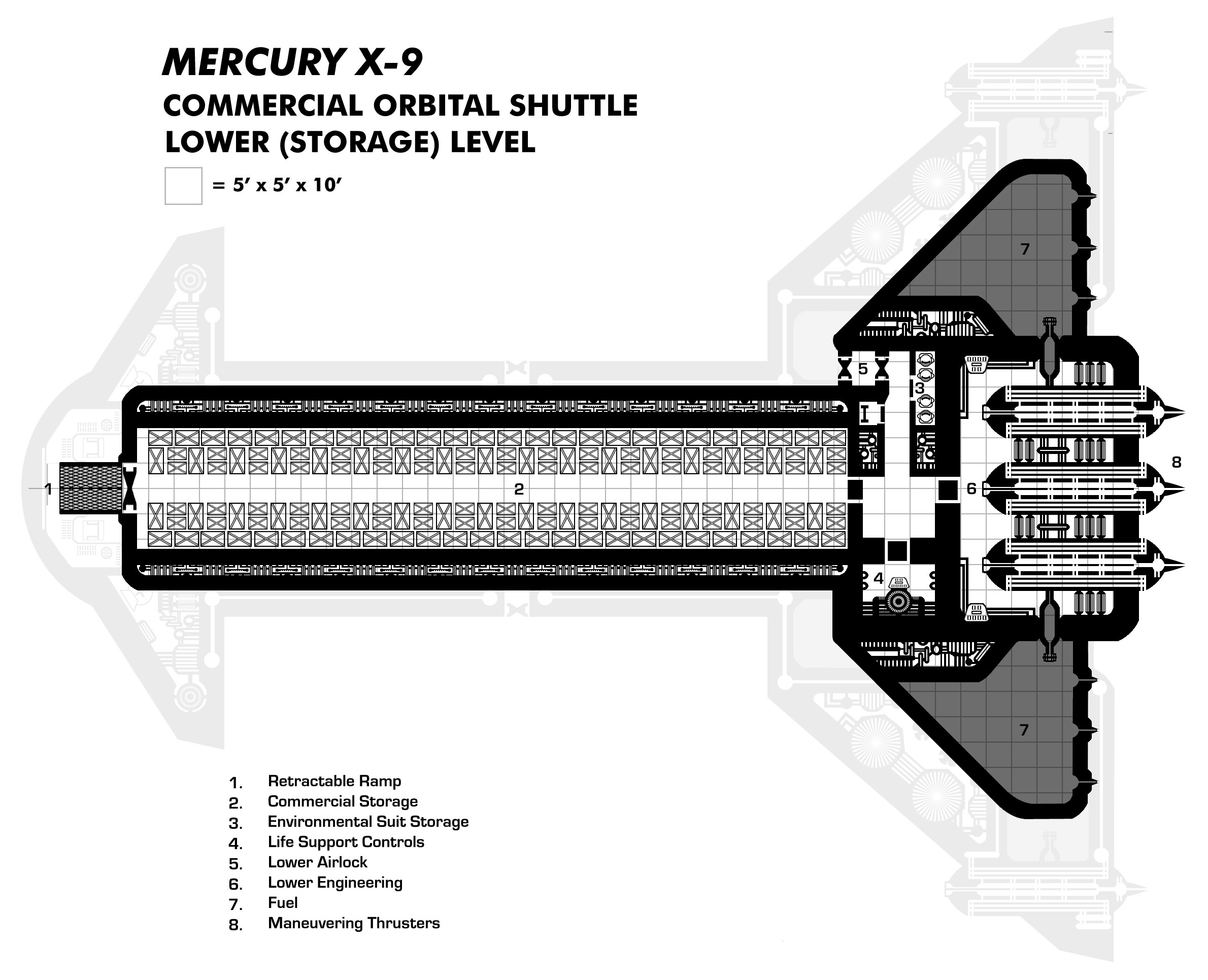 Sci-Fi Spaceship Maps | Creative Commons Licensed Maps | Paratime