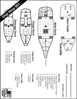 Sailing Ship Map #1 PDF