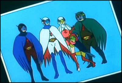 Gatchaman Team Picture