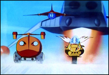 gatchaman Vehicles